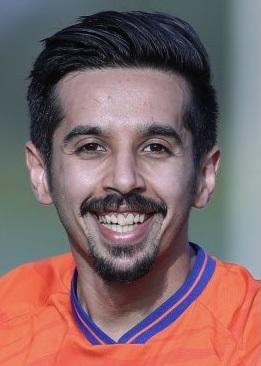 صورة عبدالله محمد الدوسري لاعب نادي الفيحاء