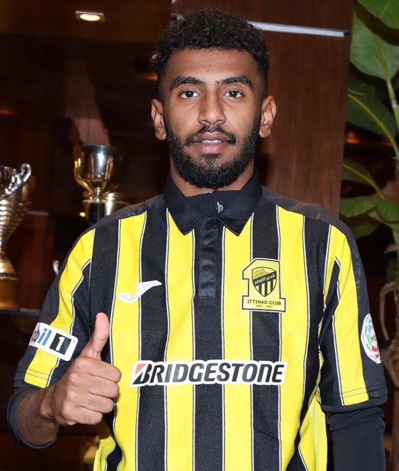 صورة عبدالعزيز سليمان الضويحي لاعب نادي الفيحاء