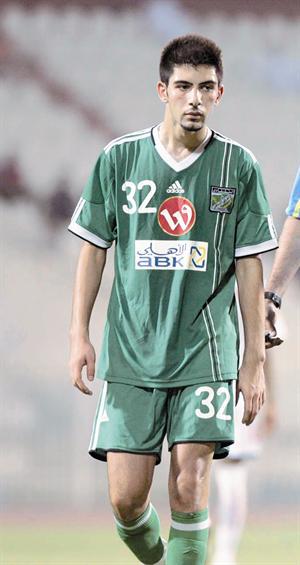 صورة عبدالعزيز السليمي لاعب نادي العربي
