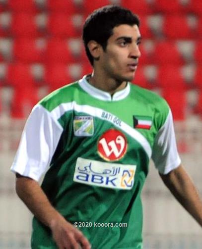 صورة عبدالله الشمالي لاعب نادي العربي