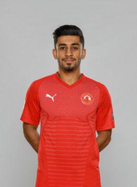 صورة عبد الله حسن معرفيه لاعب نادي العربي