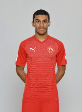 صورة عبدالرحيم يوسف البلوشي لاعب نادي العربي