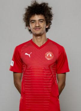 صورة أحمد محمد أبوتريكة لاعب نادي العربي