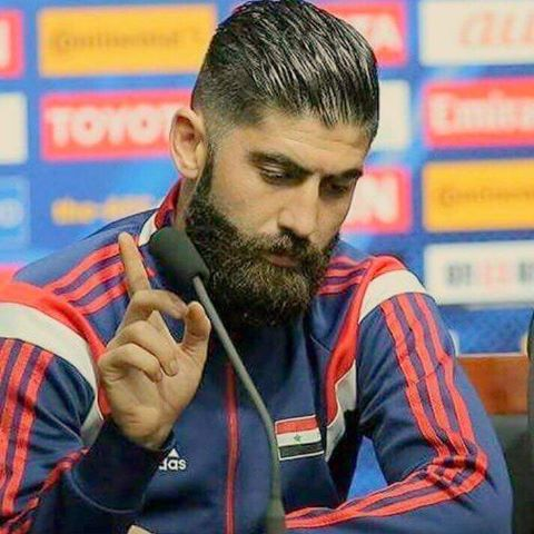 صورة أحمد الصالح لاعب نادي العربي
