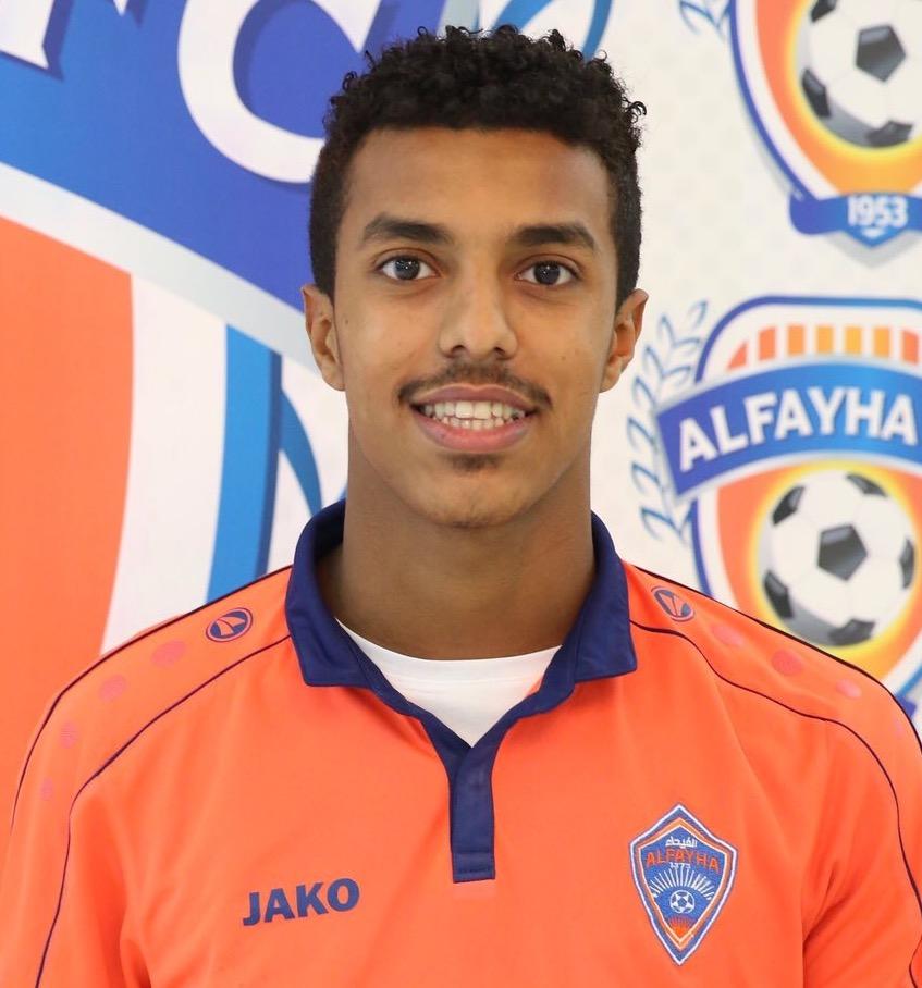 صورة أحمد بامسعود لاعب نادي الفيحاء