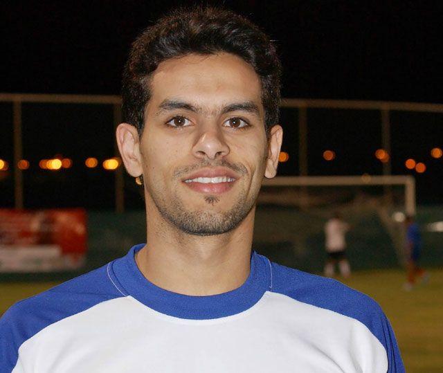 صورة علي سعيد الشهابي لاعب نادي الحد