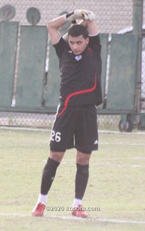صورة عمار عبدالمحسن البلوشي لاعب نادي العربي
