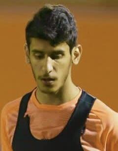 صورة بندر محمد المطيري لاعب نادي الفيحاء