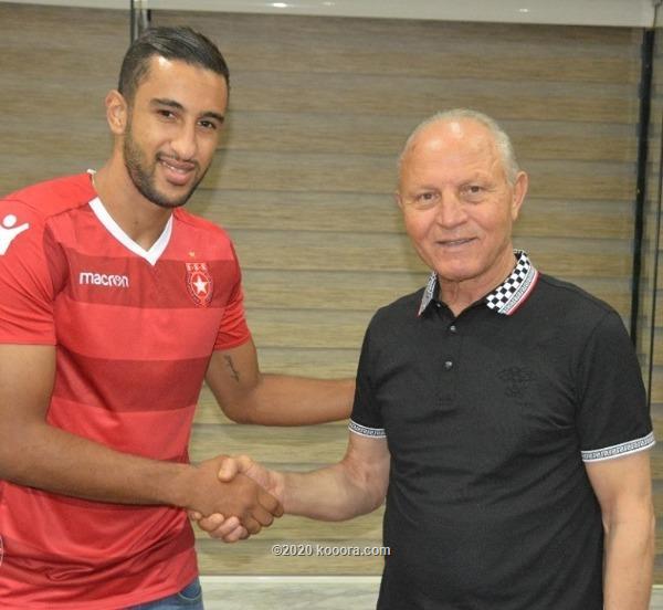 صورة بلال الماجري لاعب نادي الملعب التونسي
