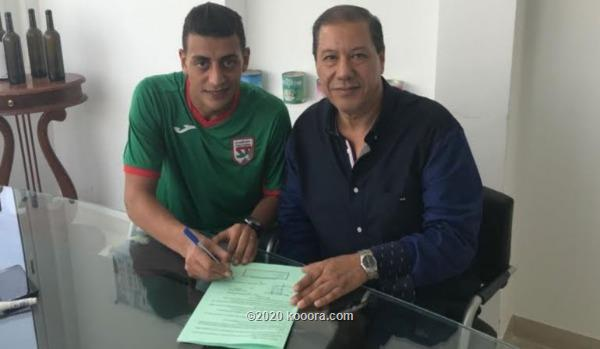 صورة شهاب الزغلامي لاعب نادي الملعب التونسي