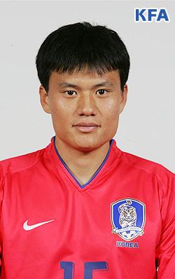 صورة جونغ كيونغ هو لاعب نادي غانغون إف سي