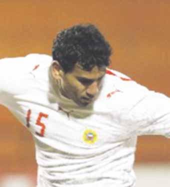صورة إبراهيم العبيدلي لاعب نادي الحد