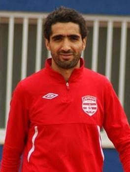 صورة فخر الدين الجزيري لاعب نادي الملعب التونسي