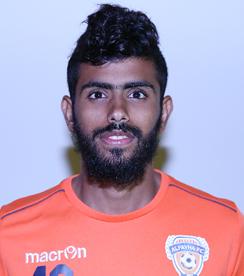 صورة حسن عيسى جعفري لاعب نادي الفيحاء