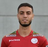 صورة هشام فايق لاعب نادي الفيصلي