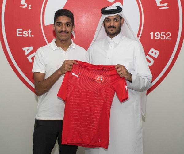 صورة جاسم جابر السيد لاعب نادي العربي