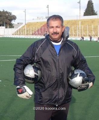 صورة مدرب حراس نادي الحسين إربد
