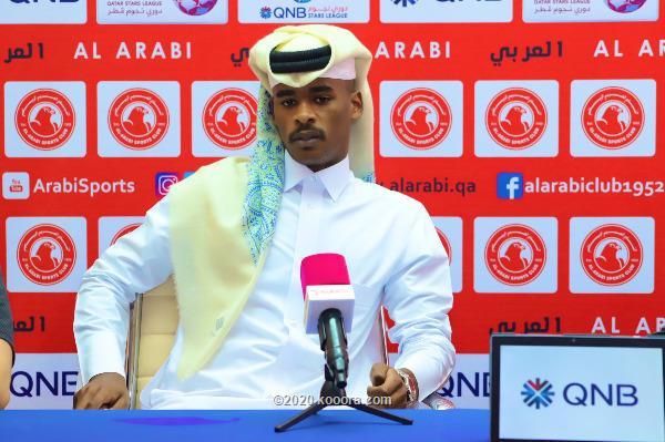 صورة خليفة سعد خلف المالكي لاعب نادي العربي