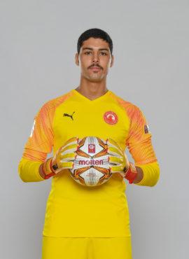 صورة محمود إبراهيم أبو ندى لاعب نادي العربي