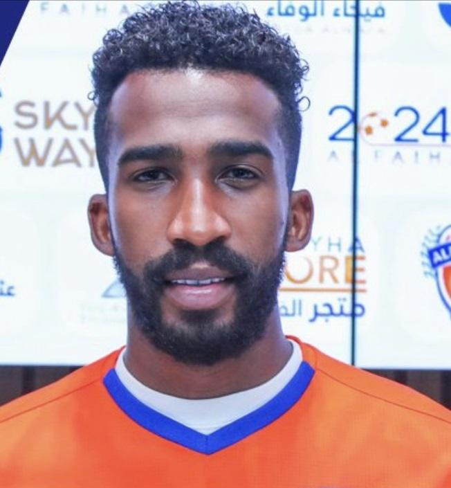 صورة منصور سالم جوهر لاعب نادي الفيحاء