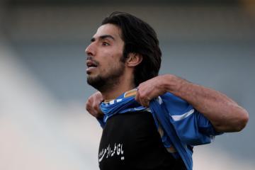 صورة مهدي سيد صالحي لاعب نادي تركتور سازي تبريز