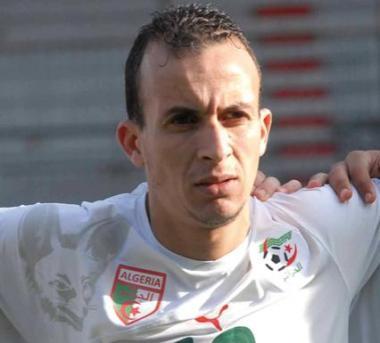 صورة محمد مسعود لاعب نادي شبيبة تيارت