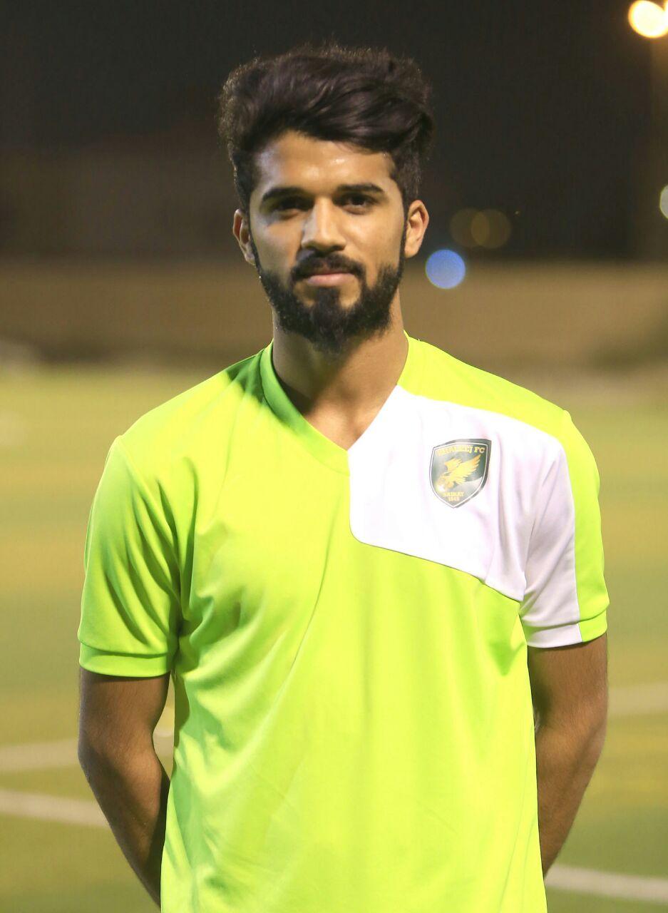 صورة محمد عبدالرؤوف المطوع لاعب نادي الفيحاء