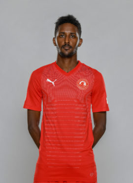 صورة محمد صلاح النيل لاعب نادي العربي