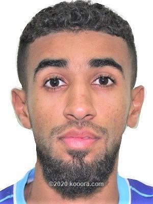 صورة ناصر علي الشهاري لاعب نادي العربي