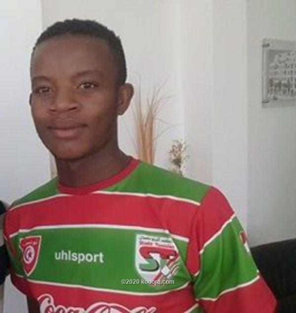 صورة نجيدي جونيور لاعب نادي الملعب التونسي