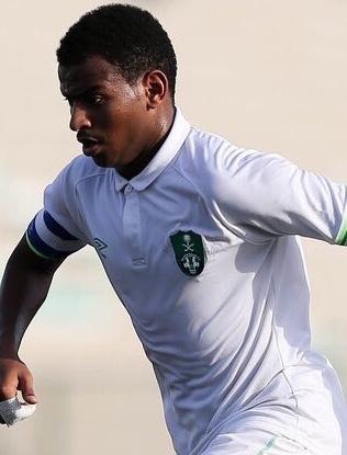 صورة صافي الزقرتي لاعب نادي الفيحاء