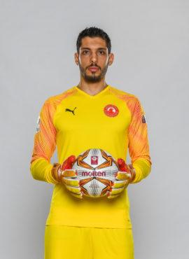 صورة ساطع عبد الناصر العباسي لاعب نادي العربي