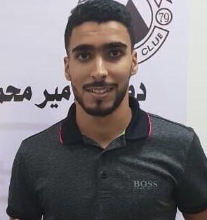 صورة السنوسي الهادي محمد لاعب نادي العربي