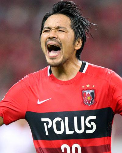 صورة شينزو كوروكي لاعب نادي اوراوا ريد دياموندز